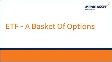 ETF - A basket of options