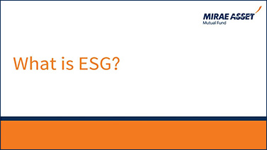 ESG Funds Explained. What is ESG?