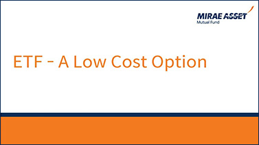 ETF - A low cost option